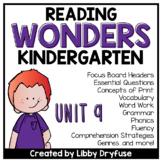 Kindergarten Wonders Unit 9