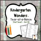 Kindergarten Wonders™ Year-At-A-Glance
