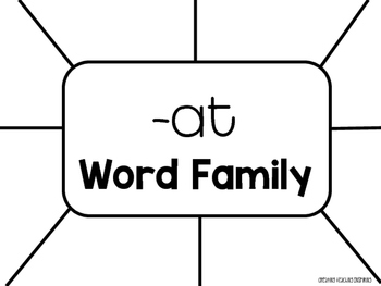 Word Family Anchor Charts