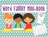 Kindergarten Word Family Interactive Mini-Book!