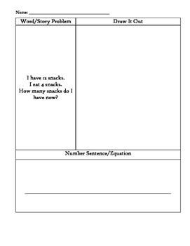 Kindergarten Word Problems (36)