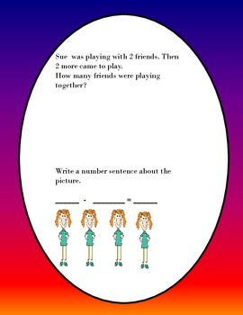 Kindergarten Word Problems