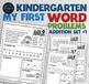 Kindergarten Word Problems Common Core Standard • My First