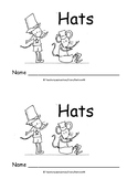 Kindergarten Word Problems Mini Book: Addition: Hats: K.OA.2  RDW