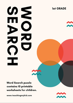 GRADE 1 - Word Search