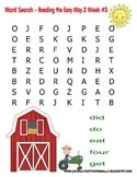Kindergarten Word Searches (Based on Primer Dolch Words)
