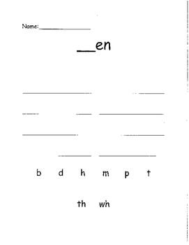 Kindergarten Word Study!