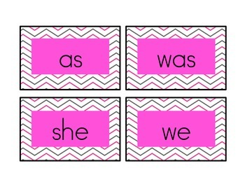 Kindergarten Word Wall - Letter and Words