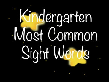 Kindergarten Word Wall Movie Theme