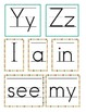 Kindergarten Word Wall / Sight Words
