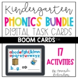 Kindergarten Boom Cards™ for Word Work BUNDLE: Distance Learning