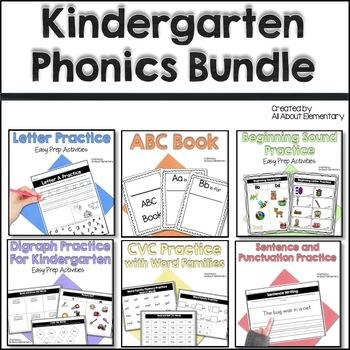 Kindergarten Word Work Bundle