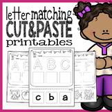 Letter Worksheets - Cut and Paste Printables