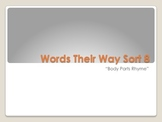 Kindergarten Words Their Way sort 8 powerpoint