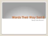 Kindergarten Words Their Way sort 8 powerpoint