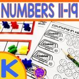 Kindergarten Numbers 11-19