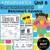 Kindergarten Worksheets (Unit 8) for Benchmark Advance