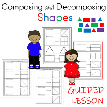 Compose And Decompose Shapes Worksheets Teaching Resources