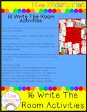 Kindergarten Write The Room
