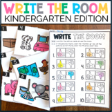 Kindergarten Write the Room