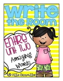 Kindergarten Write the Room: Amazing Words Entire Unit Two of Reading Street