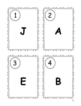 Kindergarten Write the Room Bundle {Literacy Activity}