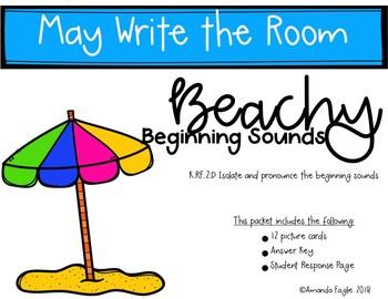 Literacy Centers Write the Room Kindergarten May