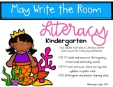 Literacy Centers Write the Room Kindergarten May