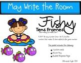 Math Centers Write the Room Kindergarten May Sneak Peak