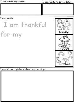 Kindergarten Writing