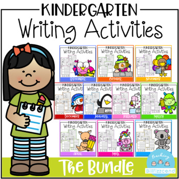 Kindergarten Writing Activities (GROWING BUNDLE)