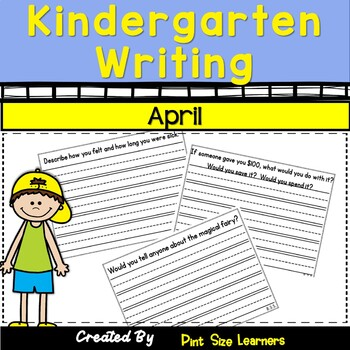 Kindergarten Writing Every Day    April