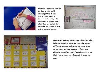 Kindergarten Writing Assessment  S.A.M.