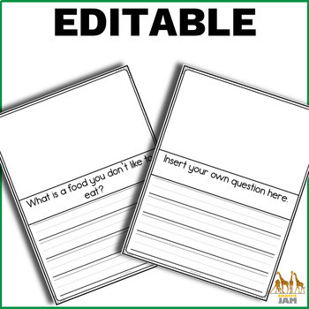 Kindergarten Writing Assessments for Special Ed and General Ed