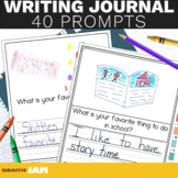 Writing Journal Prompts for Early Elementary Students