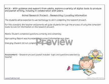 Kindergarten Writing Assessments and Rubrics