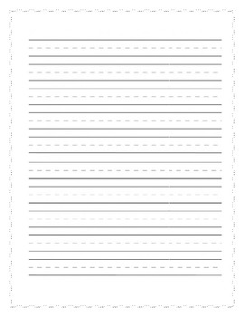 Kindergarten Writing Baseline/Posttest Assessment