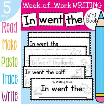 Kindergarten Writing Book - In went the (Baby Farm Animals)