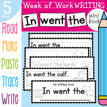 Writing Activities and Prompts Daily Book - In went the (Baby Farm Animals)