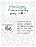 Kindergarten Writing Booklet