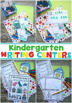 Kindergarten Writing Bundle