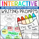 Kindergarten Writing Prompts: A Year of Guided Writing Distance Learning
