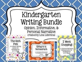 Common Core Writing Bundle #1 ~ Kindergarten