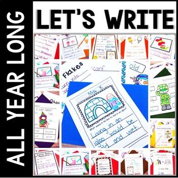 Kindergarten Writing Bundle - Low Prep Writing All Year