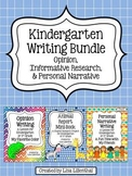 Common Core Writing Bundle #2 ~ Kindergarten