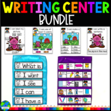 Kindergarten Writing Center Bundle