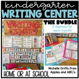 Kindergarten Writing Center GROWING BUNDLE - for Distance Learning and in School