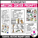 Kindergarten Writing Center Prompt Cards