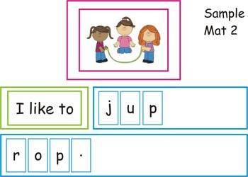 Kindergarten Writing Center - Sentence Creator