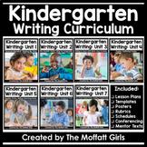 Kindergarten Writing Curriculum Bundle